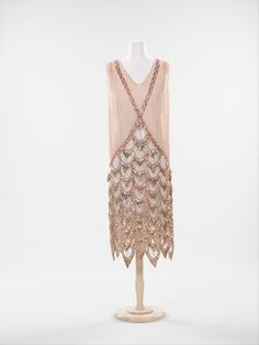 Dress ca. 1925 via The Costume Institute of the Metropolitan Museum of Art