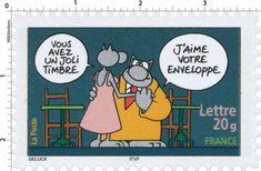 Vous avez un joli timbre, j'aime votre enveloppe - Philippe Geluck #jeudemots