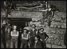 Wallaroo miners, 1900