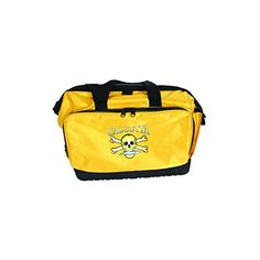 Calcutta Yellow Squall Tackle Bag with 4 367 Trays  https://fishingrodsreelsandgear.com/product/calcutta-yellow-squall-tackle-bag-with-4-367-trays/  This bag features a waterproof spider web bottom that grips any boat surface The wide mouth opening Waterproof hurricane cover and waterproof zippers