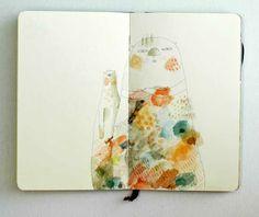 "Art Journal | Jenny Meilihove: ""Cats"""