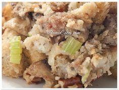 La Brea Bakery Harvest Blend Stuffing With Sausage & Mushrooms...dried cranberries, cremini mushrooms, Italian sausage, pecans..