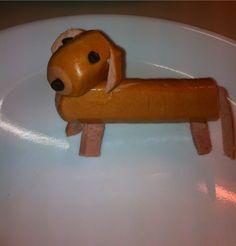 A hot dog........dog.