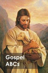 free gospel abcs book.  love this. you can print out the pictures at any photo place!