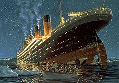 Titanic Sinking by Ken Maschall T1982c