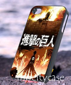 Attack on titan  iPhone 4/4s/5 Case  Samsung Galaxy by MoeltyCase, $15.00