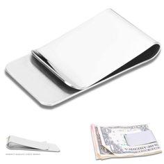 Steel Banknote Holder Metal Clip Men Purse Money Clip Cash Clamp Wallet