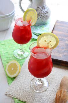 Raspberry Lemonade    (3/4 cup 1 cup water 2 cups raspberries  1 cup lemon juice  11 cups water)
