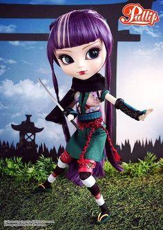 "Pullip doll ""Akoya"", ninja"