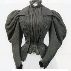 1890s jacket! Apparently worn by Elisabeth, Empress of Austria (Sisi).