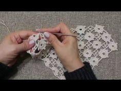 Tejido en Circulos Crochet parte 1 de 2 - YouTube