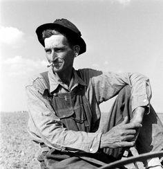Not originally published in LIFE. Oklahoma farmer, 1942.