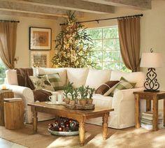 couchtisch kolonial christbaum weihnachtsschmuck