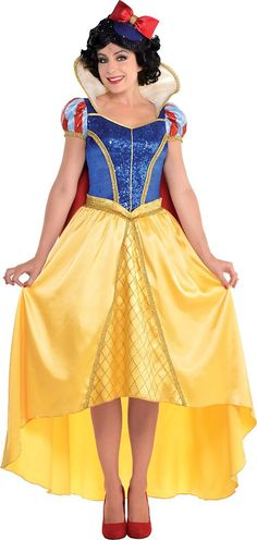 Adult Snow White Costume Couture - Snow White and the Seven Dwarfs - Party City