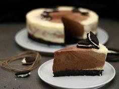 Dreifach Schoko Mousse Cheesecake