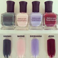 HBO Girls nail polish - wish list! : )