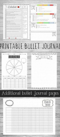 Omg I actually want to start a bullet journal but I don't know how to start. I totally need this! Printable bullet journal to download with the weekly spreads and goals pages all ready to fill in so I don't have to stress about layout lol. This download is actually 17 hand-drawn style bujo pages, including Habit tracker, Monthly Planner, Weekly Planner, gratitude, goals, savings. #bujo #bulletjournal #bulletjournaling #inspiration #download #printable #collections #hacks #etsy #ad
