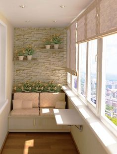 Making the design of balconies and loggias is gaining more and more popularity. All thanks to the fact that the interior is thought over very carefully, accordingly, it becomes very important, and function rooms in