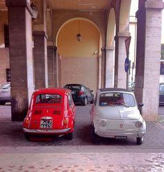 2 500s in Rome by @Elizabeth Lockhart Minchilli