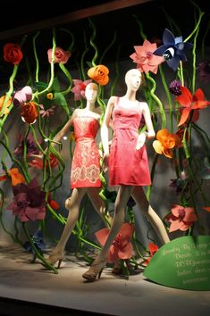 Cool floral display by Hayeon Choi.  Macy's Flower Show in 2011.