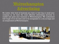 Visit our site http://www.wolverhamptonadvertising.com/ for more information on Advertising Wolverhampton. Advertising is one of the most important ways for a business to bring in new clients and increase a brand photo. Business gamers have actually surely acquired an edge with it. Wolverhampton advertising plays a pivotal duty for companies engaged in item produce and service providing.