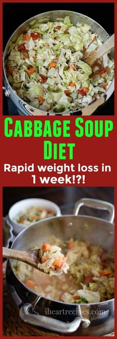 Cabbage Soup Diet Recipe For Weight Loss & Detox | I Heart Recipes