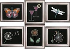 Free string art patterns for kids they LOVE these! Its cheap and will keep em busy for hours!