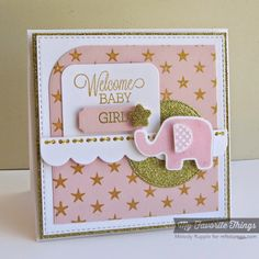 Beautiful Baby, Star Background, Beautiful Baby Die-namics, Blueprints 14 Die-namics, Stitched Circle STAX Die-namics - Melody Rupple #mftstamps