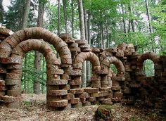 Rovine, tree rings, 2004 in Italy by Urs P. Twellmann