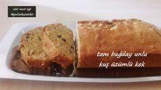 tam buğday unlu kuş üzümlü kek, kek tarifleri