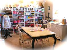 The Beehive Cottage: Craft Room Hutch!