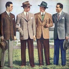 men's suits 1940s - Google Search