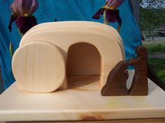 Wooden Easter set. Beautiful!
