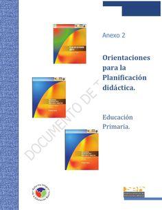 Orientaciones para la Planificación didáctica