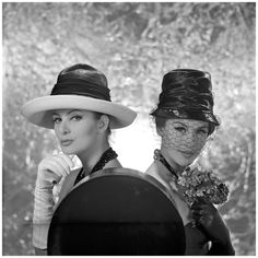 Rik de Nijs and Katinka Bleeker, Couture Kamphuis : Govers, 1960 Photo Hans Dukkers