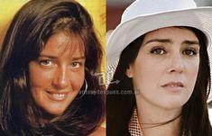 nariz operada de Paola Krum