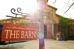 I think it'd be so cool to turn an old barn into a cute little Restaraunt/Bakery/Place to throw a Party ;p