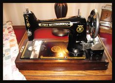 Free Westinghouse Antique Sewing Machine