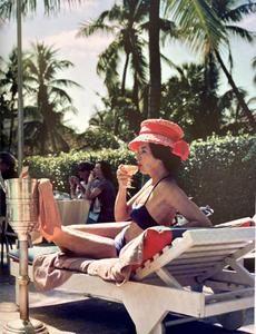Cheryl Tiegs, Peter Beard, Slim Aarons, Bikini Clad, History Of Photography, Summer Cocktails, Beach Club, Lilly Pulitzer, Caribbean
