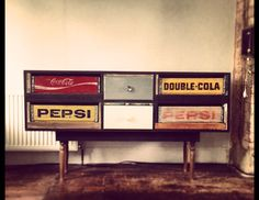 Upcycled sideboard made using vintage 50's by FoundwoodFurniture, £550.00