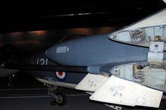 Sea Vixen detail, Fleet Air Arm Museum, RNAS Yeovilton.