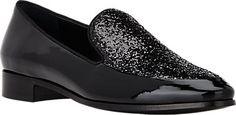 Prada Glitter-Vamp Loafers - Loafers - Barneys.com