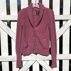 American Eagle cardigan Good condition cardigan, one pocket is not attached on one side but has no holes and is attached on the other side American Eagle Outfitters Sweaters Cardigans