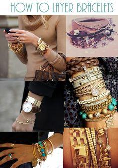 Bracelet Layering