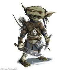 Image result for Dungeons and Dragons Goblin