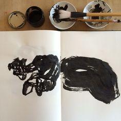 Encre sur papier Août 2016 Olivier Umecker Art Sketchbook, Art Pictures, Abstract Art, Ink, Paper, Olive Tree, Art Images