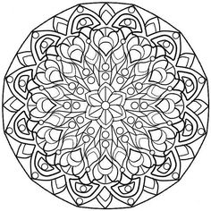 complex designs Colouring Pages (page 3)