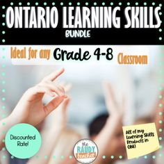 Skill Tools, Ontario Curriculum, Report Card Comments, Goal Setting Template, Report Cards, Shared Reading, Skills To Learn, Guided Math, Word Work