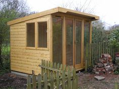 Special 2.5m x 1.8m Pent Roof Summerhouse