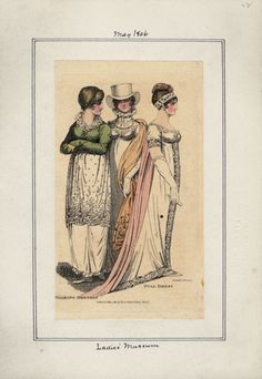 Ladies' Museum, may 1806.